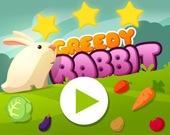 Жадный кролик - бег по уровням