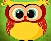 Забавные совы - Пазл