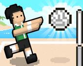 Волейбол - 2 игрока