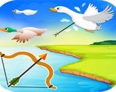 Охота на уток с луком