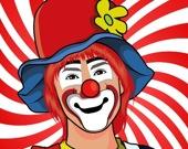 Забавные клоуны - Пазл