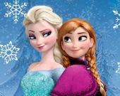 Эльза и Анна в злодейском стиле