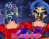 Причёски Ледибаг на Хэллоуин