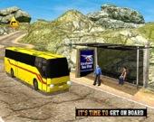 На автобусе в гору