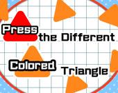 Нажми на треугольник другого цвета