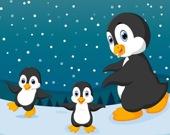 Пингвины зимой - Мемори