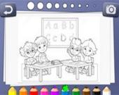 Детская раскраска