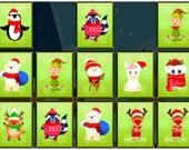 Игра на память: Рождественские животные
