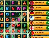 Поиск стран в словах