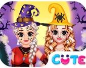 Принцессы на Хэллоуин