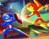 Супер-Стикман - Битва героев