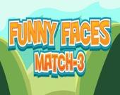 3 в ряд: Забавные лица 2