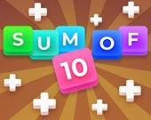 Сумма 10: подбери числа