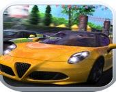 Скоростная автогонка: симулятор вождения