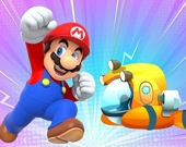 Супер Марио: Головоломка цветной транспортер