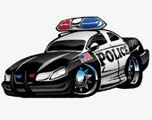 Запоминалка: Полицейские машины