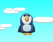 Пингвин уворачивается