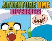 Время приключений - Найди отличия