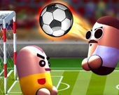 Футбол головами: 2 игрока