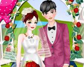 Романтическая весенняя свадьба