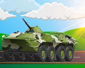 Пазл: Военные транспортные средства