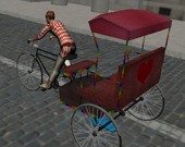 Водитель рикшы