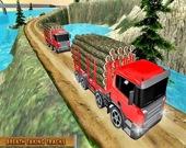 Симулятор грузовика: Перевозка грузов по горам