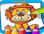 Животные - Раскраска для детей