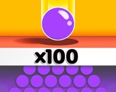 3D Лабиринт с мячами-клонами