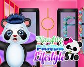 Стиль жизни озорной панды