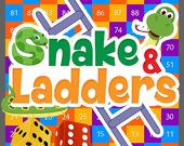 Огромные змеи и лестницы
