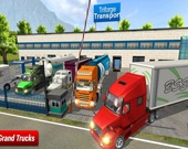 Симулятор внедорожного грузового прицепа