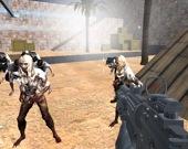 Мультплеерный Бой: Столкновение с Зомби