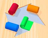 Цветной роллик 3D