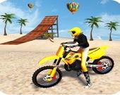 Мотокросс на Пляже