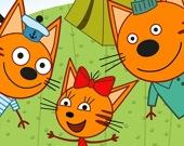 Пикник с кошачьей семьей