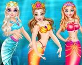 Одень принцессу-русалку