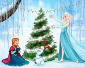 Рождество Олафа - Пазл