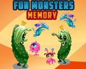 Веселые монстры: игра на память