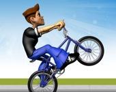Вилли на байке - трюки на велосипеде BMX