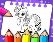 Мой маленький пони - Раскраска