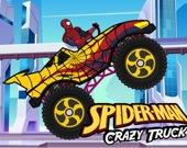 Человек-паук на монстр-траке