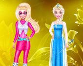 Модный косплей принцесс