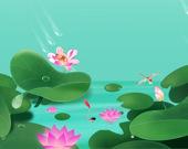 Пятнашки: Цветок лотуса