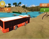Пляжный автобус: Вождение по воде