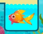 Спаси рыбку - Вытащи булавку