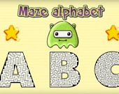 Лабиринт в алфавите