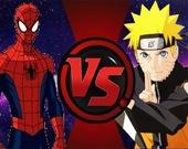 Человек-паук против Наруто