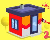 Раскрась дом 2