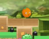 Катящийся апельсин